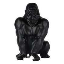 Poly Resin Gorilla Matte Black