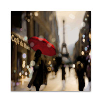 A Paris Stroll Wall Art Print