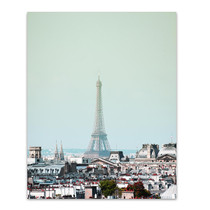 Eiffel Day Wall Art Print