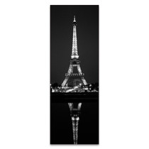 Eiffel Reflection Wall Art Print
