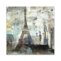 Eiffel Tower Neutral Wall Art Print