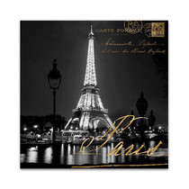 Paris At Night Wall Art Print