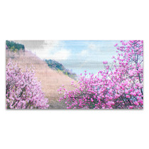 Hillside Blooms Wall Art Print