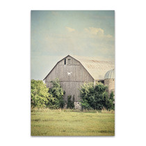 Late Summer Barn II Wall Art Print