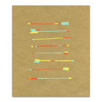 Arrows Wall Art Print