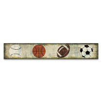 Ball Four Panel Wall Art Print