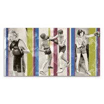 Vintage Boxing Wall Art Print