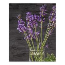 Lavender Jar II Wall Art Print
