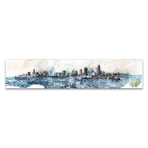 Chicago Skyline Wall Art Print