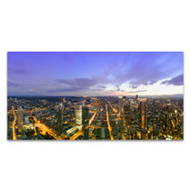 Frankfurt Panorama Wall Art Print