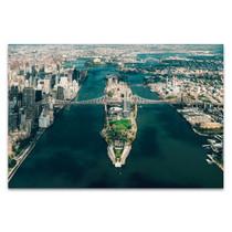 New York Roosevelt Island Wall Art Print