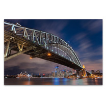 The Sydney Harbour Bridge Wall Art Print