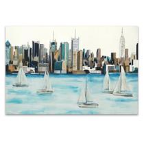 Boat City Wall Art Print
