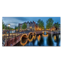 The Amsterdam Canals Wall Art Print
