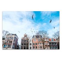 Amsterdam Reflection Wall Art Print