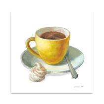 Wake Me Up Coffee IV Wall Art Print