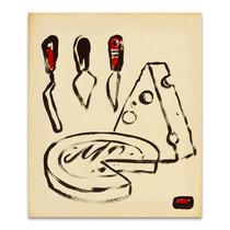 Wine and Cheese Wall Art Print