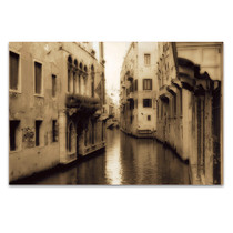 Old Venice Canal Wall Art Print