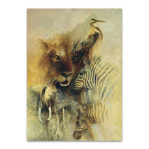 African Montage Wall Art Print