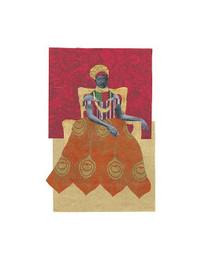 African Royals II Wall Art Print