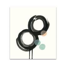 Zen Circles A Wall Art Print