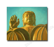 Golden Buddha Two | Art for Sale