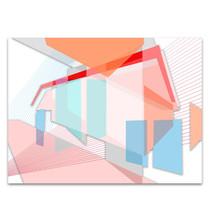 Colour Planes I Wall Art Print
