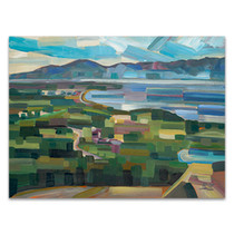 View From Goose Park Wall Art Print