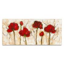 Abstract Poppy Wall Art Print