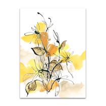 Paris Yellow I Wall Art Print