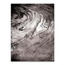 Grey Sea Marble Wall Art Print