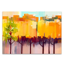 Abstract Landscape Wall Art Print