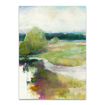 Crossing The Stream Wall Art Print