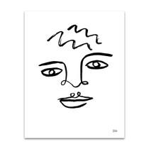 Making Faces IV Wall Art Print