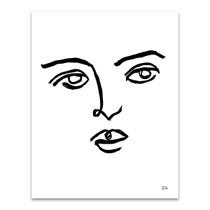 Making Faces VI Wall Art Print