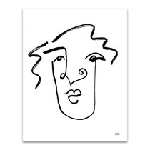 Making Faces VIII Wall Art Print