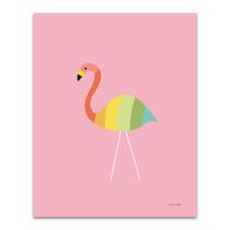 Flamingo Colors Wall Art Print
