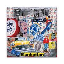 Manhattan Story Wall Art Print