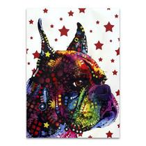 Profile Boxer Wall Art Print