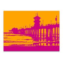 Sunset Pier Wall Art Print