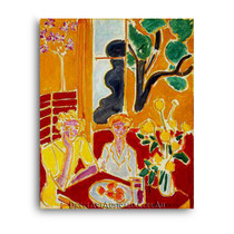 Matisse | Two Girls in a Yellow and Red Interior