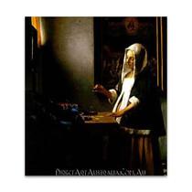Jan Vermeer | Woman Holding a Balance