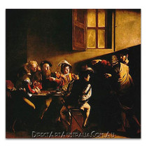 Caravaggio | The Calling of Saint Matthew