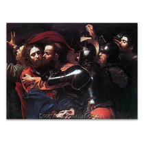 Caravaggio | The Taking of Christ