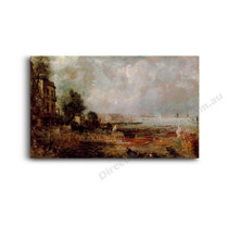 John Constable | The Opening of Waterloo Bridge