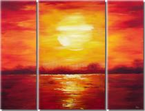 Setting Ocean Sun