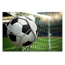 Football on Net Wall Art Print