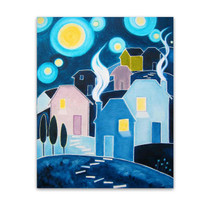 Nathalie Vachon | Beaches Starry Night
