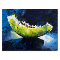 Melon Fruit Abstract Art Print
