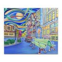 Seattle Downtown Canvas Print